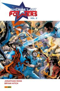 America's got Powers T2 : , comics chez Panini Comics de Ross, Hitch, Mounts, Baron