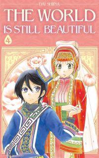 The world is still beautiful T4, manga chez Delcourt de Shiina
