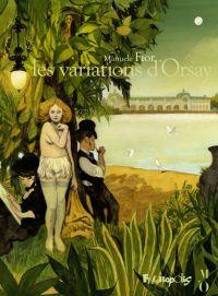 Les Variations d'Orsay, bd chez Futuropolis de Fior