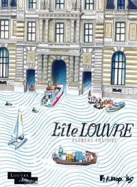 L'Île Louvre : , bd chez Futuropolis de Chavouet