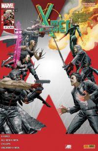 X-Men (revue) – V 4, T27 : Sur le terrain (0), comics chez Panini Comics de Bendis, Layman, Spurrier, Del Mundo, Kim, Garron, Bachalo, D'Alfonso, Fabela, Sotomayor