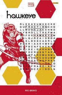 Hawkeye T4 : Rio Bravo (0), comics chez Panini Comics de Fraction, Aja, Eliopoulos, Francavilla, Hollingsworth, Bellaire