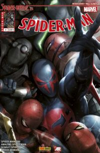 Spider-Man (revue) – V 5, T8 : Spider-Verse (3/4) (0), comics chez Panini Comics de Slott, David, Hopeless, Costa, Diaz, Camuncoli, Land, Leisten, Smith, Silva, Ponsor, d' Armata, Mattina