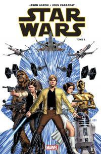 Star Wars T1 : Skywalker passe à l'attaque (0), comics chez Panini Comics de Aaron, Cassaday, Martin