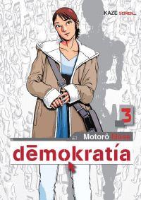 Demokratia T3, manga chez Kazé manga de Mase