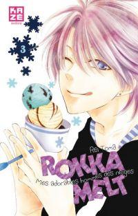Rokka melt - Mes adorables hommes des neiges  T3, manga chez Kazé manga de Toma