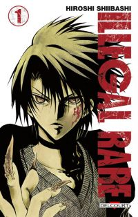 Illegal rare T1, manga chez Delcourt de Shiibashi