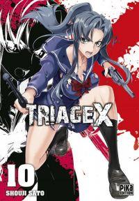 Triage X T10 : , manga chez Pika de Sato