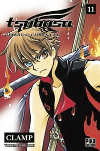 Tsubasa RESERVoir CHRoNiCLE – Edition double, T11, manga chez Pika de Clamp