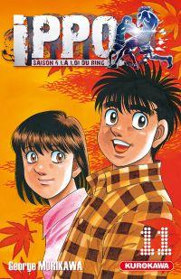 Ippo – Saison 4 - La loi du ring, T11, manga chez Kurokawa de Morikawa