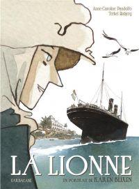 La Lionne : Un portrait de Karen Blixen (0), bd chez Sarbacane de Pandolfo, Risbjerg