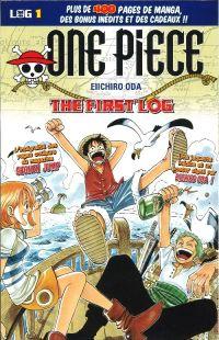 One Piece - Log Books T1 : The First Log (0), manga chez Hachette de Oda