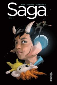 Saga T5, comics chez Urban Comics de Vaughan, Staples