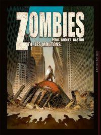 Zombies T4 : Les moutons, bd chez Soleil de Peru, Cholet, Bastide