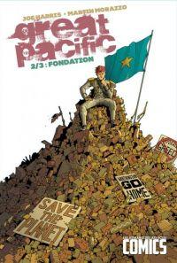 Great Pacific T2 : Fondation (0), comics chez Les Humanoïdes Associés de Harris, Morazzo, Tiza Studio