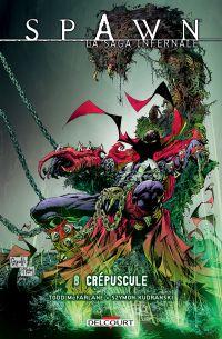 Spawn - La saga infernale T8 : Crépuscule (0), comics chez Delcourt de McFarlane, Goff, Kudranski, FCO Plascencia, Capullo