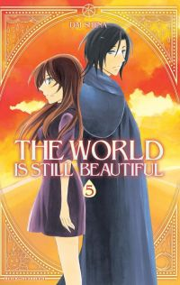 The world is still beautiful T5, manga chez Delcourt de Shiina