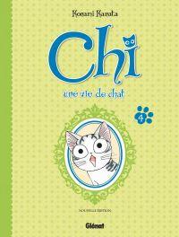 Chi - une vie de chat (format BD) T4, bd chez Glénat de Konami