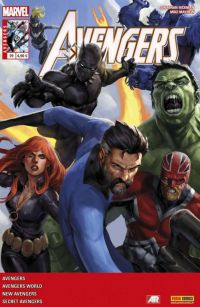 The Avengers (revue) – V 4, T29 : ... et il ne reste que des cendres (0), comics chez Panini Comics de Kot, Hickman, Barbiere, Mayhew, Walsh, Checchetto, Deodato Jr, Mossa, Wilson, Beredo, Caselli