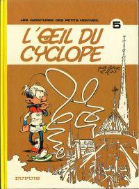 Les petits hommes T5 : L'oeil du cyclope (0), bd chez Dupuis de Hao, Seron, Léonardo