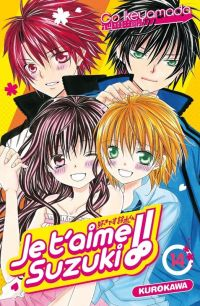 Je t'aime Suzuki !!  T14, manga chez Kurokawa de Ikeyamada
