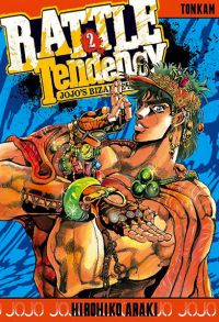 Jojo's Bizarre Adventure - Battle Tendency T2, manga chez Tonkam de Araki