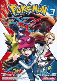 Pokémon XY T3, manga chez Kurokawa de Kusaka, Yamamoto