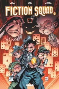 Fiction Squad T3, comics chez Glénat de Jenkins, Bachs, Ramos, Olea, Paciarotti