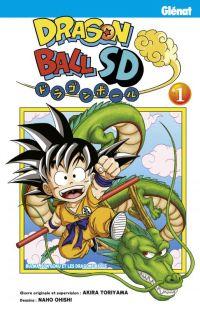Dragon ball SD  T1, manga chez Glénat de Oishi, Toriyama