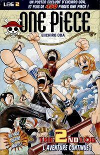 One Piece - Log Books T2 : L'aventure continue ! (0), manga chez Hachette de Oda