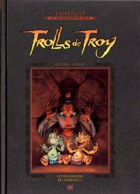 Lanfeust et les mondes de Troy T54 : Trolls de Troy - Les prisonniers du Darshan (0), bd chez Hachette de Arleston, Mourier, Guth