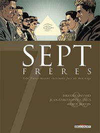 7 frères, bd chez Delcourt de Camus, Convard, Boivin, Delf