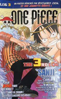 One Piece - Log Books T3 : Sanji - 1ère partie (0), manga chez Hachette de Oda