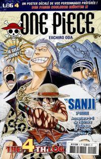 One Piece - Log Books T4 : Sanji - 2e partie (0), manga chez Hachette de Oda