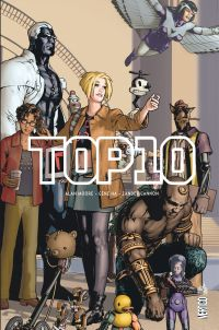 Top 10 : , comics chez Urban Comics de Moore, Cannon, Cannon, Ha, Wildstorm fx, Sinclair, Brown, Lyon