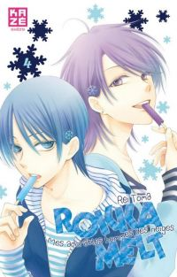 Rokka melt - Mes adorables hommes des neiges  T4, manga chez Kazé manga de Toma