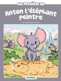Anton, l'éléphant peintre, bd chez Bamboo de Scotto, Domas, Lerolle