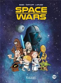 Space wars : , bd chez Monsieur Pop Corn de Lapuss', Baba, Tartuff