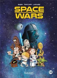 Space wars T2, bd chez Kennes éditions de Lapuss', Baba, Tartuff