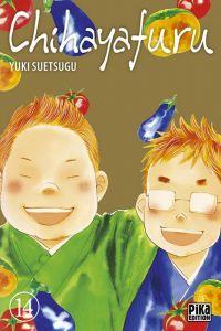 Chihayafuru T14, manga chez Pika de Suetsugu