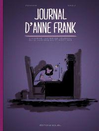 Le Journal d'Anne Frank, bd chez Soleil de Ozanam, Silecs