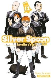 Silver spoon T12, manga chez Kurokawa de Arakawa
