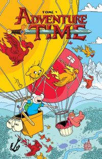 Adventure time T4, comics chez Urban Comics de North, Lamb, Paroline