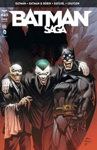 Batman Saga T43, comics chez Urban Comics de King, Stewart, Fletcher, Snyder, Seeley, Tomasi, Capullo, Tarr, Miki, Mooney, Gray, Gleason, FCO Plascencia, Cox, Kalisz, Wicks, Kubert