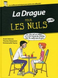 ... pour les nuls : La drague (0), bd chez Delcourt de Delcroix, Rietzmann, Teyras