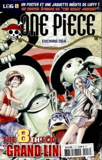 One Piece - Log Books T8 : Grand Line - 2ème partie (0), manga chez Hachette de Oda