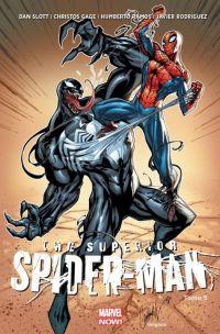Superior Spider-Man T5 : Les heures sombres (0), comics chez Panini Comics de Slott, Gage, Ramos, Martin, Rodriguez, Delgado, Gandini, Fabela, Campbell
