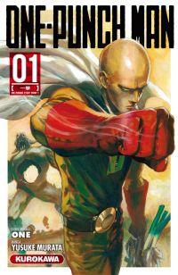One-Punch Man T1 : Un poing c'est tout ! (0), manga chez Kurokawa de One, Murata