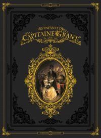 Les enfants du Capitaine Grant, de Jules Verne, bd chez Delcourt de Nesme