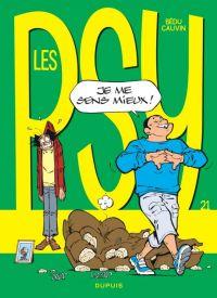 Les psy T21 : Je me sens mieux !, bd chez Dupuis de Cauvin, Bédu